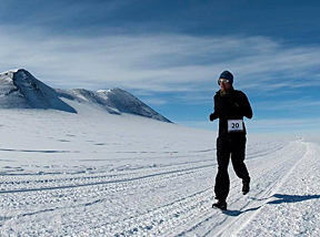 Antarctic Ice Marathon100K